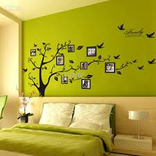 wall decoration wall decal tree with frames lovely home