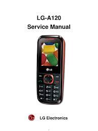 en lg a120 service manual 20100707 digital signal processor
