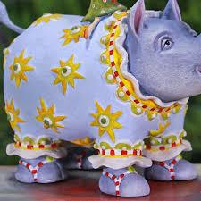 patience brewster roberta rhino ornament