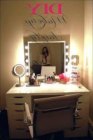Lighted Makeup Vanity Table Vanities Lighted Makeup Vanity Ikea Best Lighted Makeup Vanity