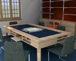 board game table design interiors design