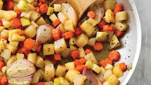 Glazed Root Vegetables Recipe - cooks illustrated cider glazed root vegetables root vegetable