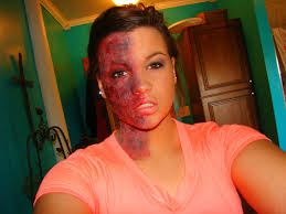 special effects makeup for halloween special effects makeup half burn face special effects pinterest