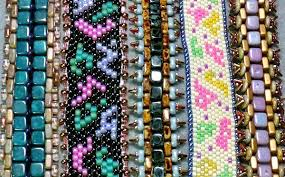 beaded butterfly bracelet images Back to the basics with peyote stitch bead patterns jpg