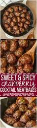 check out sweet and spicy cranberry cocktail meatballs it u0027s so
