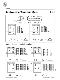 free worksheets tens ones worksheets free math worksheets for