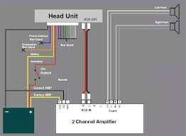 wiring diagram for 4 channel car amp with sub readingrat net