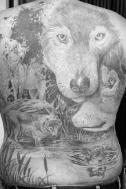 40 wolf back designs for fierce ink ideas
