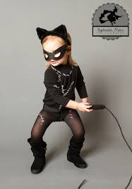 Catwoman Halloween Costumes Girls Kid U0027s Diy Catwoman Costume Halloween Diy Catwoman