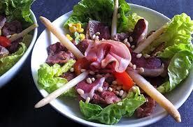 cuisine landaise recette de salade landaise par la cuisine de fanie