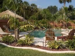 garden designs around pools