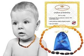 babies teething necklace images Baltic amber baby teething necklaces unisex anti jpg