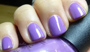 paillette a little nail polish journal what another purple