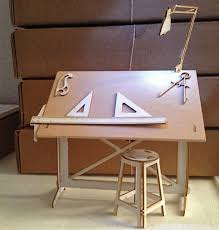 Drafting Table Wood Plans For Building Drafting Table With Inspiration Gallery 21998