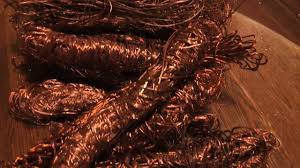 copper wire stripping scrap