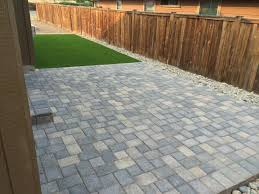 Paver Patio Garden Ideas Patio Designs Using Pavers New Impression From