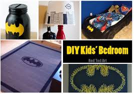 Batman Room Decor Easy Batman Diy Ideas Ted S