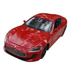red maserati cost amazon com car toys 1 32 red maserati matal model cars toys u0026 games