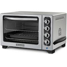12 Slice Toaster Shop Kitchenaid 6 Slice Chrome Convection Toaster Oven At Lowes Com