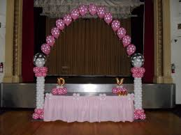 wedding arches party city baptism balloon arch party decorations by teresa