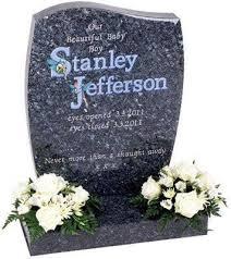 baby headstones for fairy inscription baby headstones mackay s memorial headstones