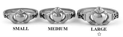 mens claddagh ring mens silver claddagh ring ms bclad107 large