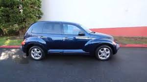 2001 chrysler pt cruiser patriot blue 1t646171 redmond