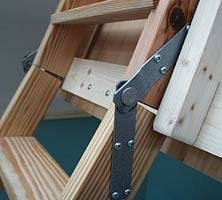 attic door hinge how to install attic stairs gadgets and hacks