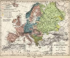 Language Map Of Europe by European Union National Language