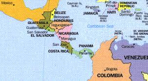 political map of central america and the caribbean detailed maps of central america