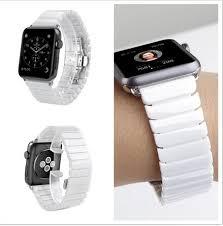 ceramic bracelet watches images Hot sale ceramic link bracelet butterfly buckle watch bands for jpg