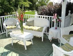 white wicker patio furniture sets white wicker outdoor furniture