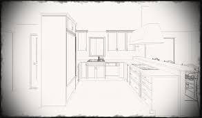 Kitchen Design Drawings Kitchen Design Drawings Fanciful For Cofisemco Simple Drawing Best