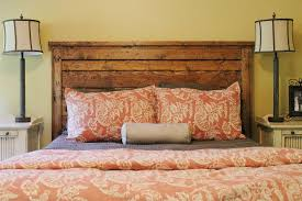 Design For Headboard Shapes Ideas Bedroom Country Rectangle Textured Wood Diy Headboard Decor With