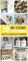 29 ways to decorate your rental with contact paper contact paper