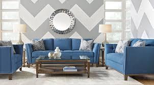 blue furniture blue slate white living room furniture ideas decor