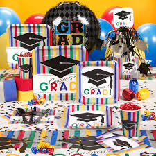 grad party supplies celebration for the high school grad make it a party