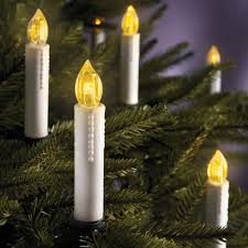 cordless christmas tree candles hammacher schlemmer