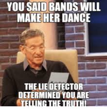 Bands Make Her Dance Meme - 25 best memes about bands will make her dance bands will