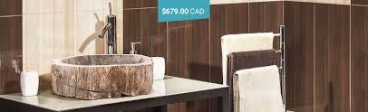 stone vessel sinks natural stone sinks bathroom sinks rocksinks