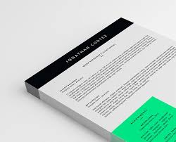 Two Page Resume Example by Two Pages Resume Template Psd Word