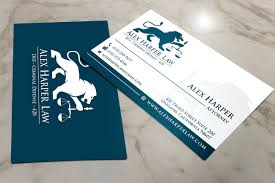 Lawyer Business Card Design Serious Professional Business Card Design For Law Office Of