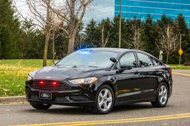 police car ford unveils its first plug in hybrid police car roadshow
