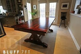 Harvest Kitchen Table by Reclaimed Wood Kitchen Table Dundas Ontario 8 Blog