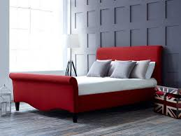 bedroom red and black bedroom furniture with red and grey