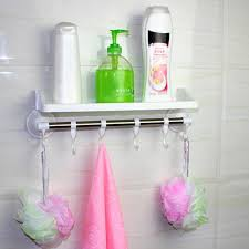 compare prices on shampoo holder for shower online shopping buy bathroom shower bath suction holder for shampoos shower gel stainless steel plastic kitchen home shelf