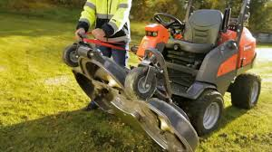 learn how to set up the husqvarna p 525d front mower in the