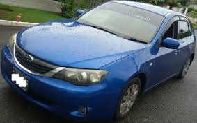 blue subaru hatchback 2007 subaru impreza hatchback for sale in kingston jamaica