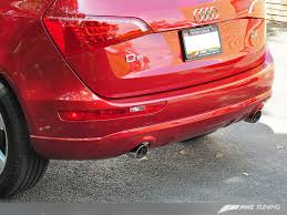 audi q5 performance parts awe tuning audi q5 3 2l performance exhaust and downpipe systems