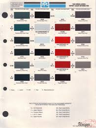 ferrari yellow paint code acura paint chart color reference